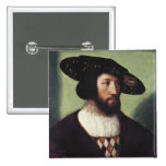 Retrato de Kristian II Pin Cuadrado