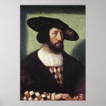 Retrato de Kristian II Póster