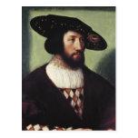 Retrato de Kristian II Tarjeta Postal