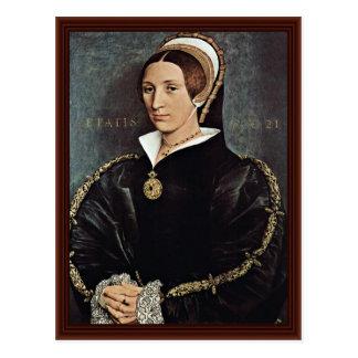Retrato de la 5ta esposa de Catalina Howard de rey Tarjetas Postales