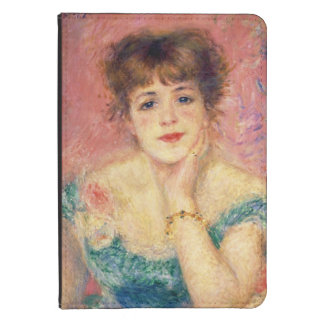 Retrato de la actriz Jeanne Samary, 1877 Funda Para Kindle