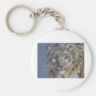 Retrato de la cabeza del tigre llavero