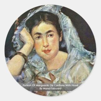 Retrato de la capilla de Marguerite De Conflans Wi Etiquetas