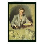 Retrato de la Casa Blanca de Eleanor Roosevelt Tarjeton