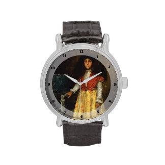 Retrato de la caza de Guillermo de Erla Howell Reloj De Mano