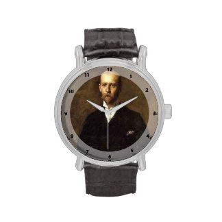 Retrato de la caza de Guillermo de Guillermo Le Ge Reloj De Mano