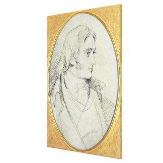 Retrato de la cerradura II (1767-1847) de Guillerm Impresiones De Lienzo