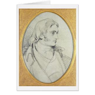 Retrato de la cerradura II (1767-1847) de Guillerm Tarjeta De Felicitación