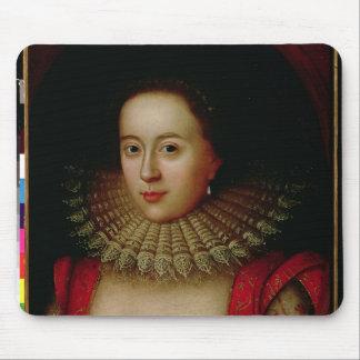 Retrato de la condesa de Frances Howard de Somerse Alfombrillas De Raton