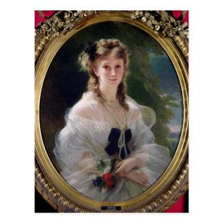 Retrato de la condesa de Sophie Troubetskoy de Postales