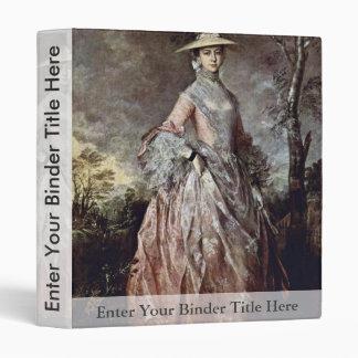 Retrato de la condesa Howe de Maria de Thomas Gain