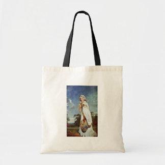 Retrato de la condesa posterior de Elizabeth Farre Bolsa De Mano