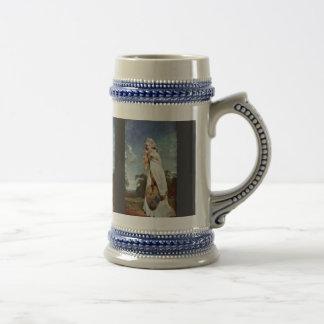 Retrato de la condesa posterior de Elizabeth Farre Tazas De Café