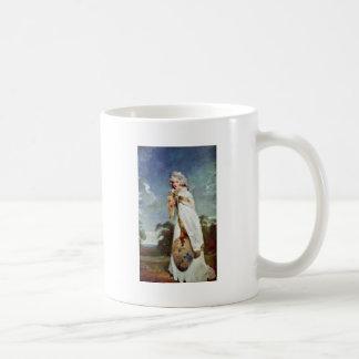 Retrato de la condesa posterior de Elizabeth Farre Taza De Café