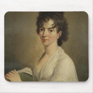 Retrato de la Constanza viuda Mozart 1802 Tapetes De Raton