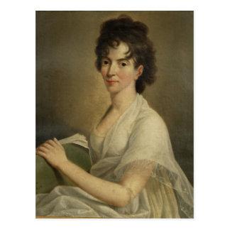 Retrato de la Constanza viuda Mozart 1802 Postales