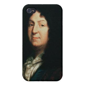 Retrato de la copia de Jean Racine de una original iPhone 4/4S Carcasa
