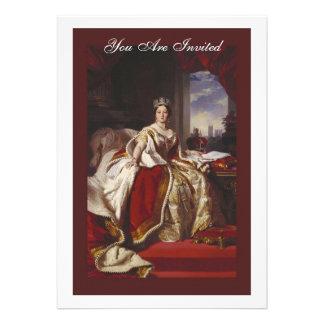 Retrato de la coronación de la reina Victoria Comunicado Personalizado