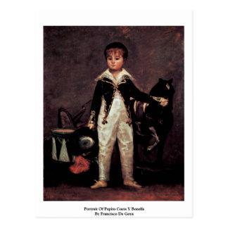 Retrato de la costa Y Bonelis de Pepito Postales