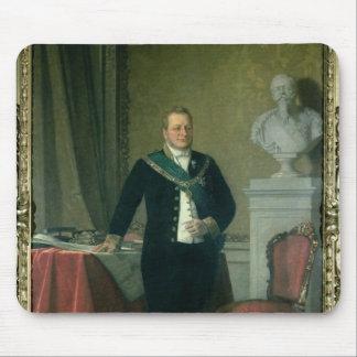 Retrato de la cuenta Camillo Berso de Cavour Tapete De Ratón