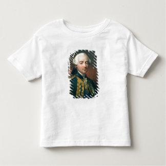 Retrato de la cuenta de Charles Enrique de Estaing T-shirt