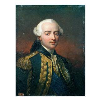 Retrato de la cuenta de Charles Enrique de Estaing Postales