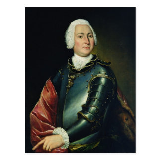 Retrato de la cuenta Ernst Cristóbal von Manteuffe Tarjeta Postal