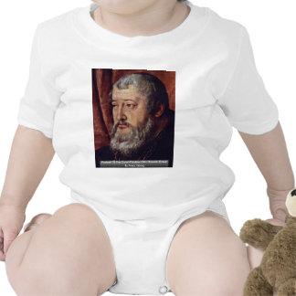 Retrato de la cuenta Palatine Otto Heinrich Detai Traje De Bebé
