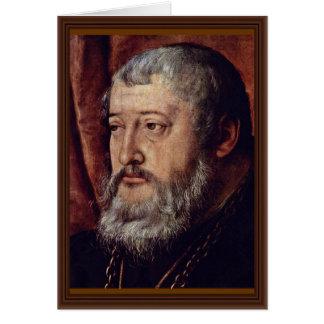 Retrato de la cuenta Palatine Otto Heinrich Detai Felicitacion