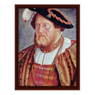 Retrato de la cuenta Palatine Otto Heinrich Tarjetas Postales