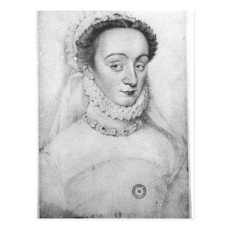 Retrato de la dama de Charlotte de Beaune Tarjetas Postales