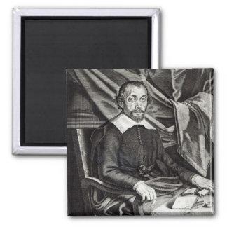 Retrato de la edad 58, 1644 de Theophraste Renaudo Imán Cuadrado