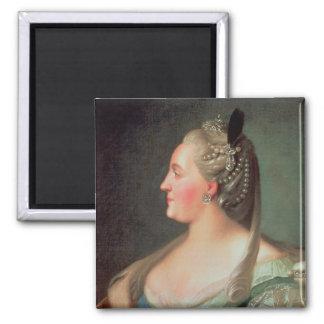 Retrato de la emperatriz Catherine II el grande Imán Para Frigorifico