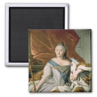 Retrato de la emperatriz de Elizabeth Petrovna Imán De Nevera