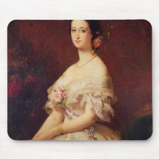 Retrato de la emperatriz Eugenie 1854 Alfombrillas De Ratón