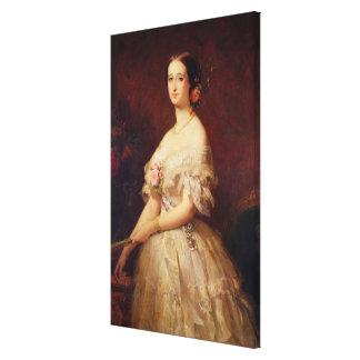 Retrato de la emperatriz Eugenie 1854 Impresiones De Lienzo