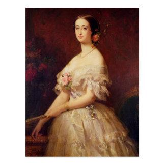 Retrato de la emperatriz Eugenie 1854 Postales