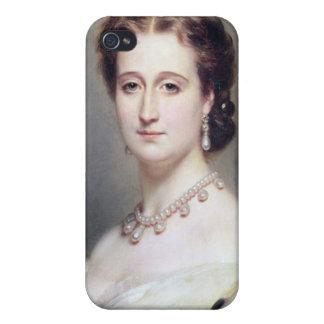 Retrato de la emperatriz Eugenie iPhone 4/4S Carcasas