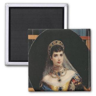 Retrato de la emperatriz Maria Fyodorovna Imanes De Nevera