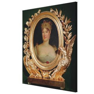 Retrato de la emperatriz Marie-Louise de Austria Impresiones En Lona Estiradas