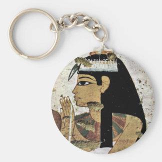 Retrato de la esposa de Maler Der Grabkammer Der B Llavero Redondo Tipo Pin