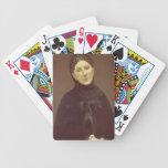 Retrato de la esposa del artista, señora de Chavan Barajas De Cartas