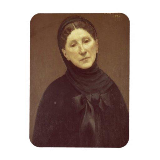 Retrato de la esposa del artista, señora de Chavan Imanes Flexibles