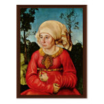 Retrato de la esposa del Dr. Juan Stephan Reuss By Postales