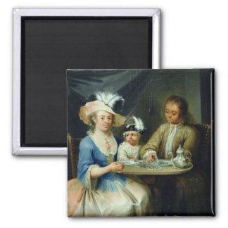 Retrato de la familia c 1760 imanes