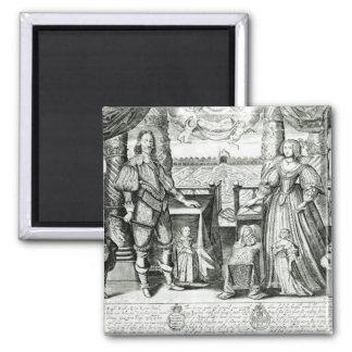 Retrato de la familia de Charles I Imanes