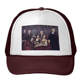 Retrato de la familia de decano George Berkeley po Gorro