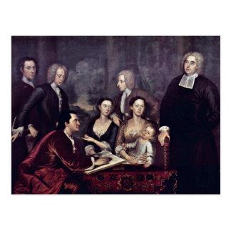 Retrato de la familia de decano George Berkeley po Tarjetas Postales