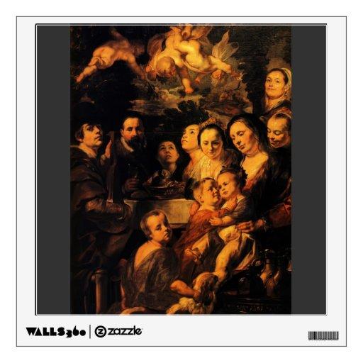 Retrato de la familia de Jordaens de Jacob Jordaen