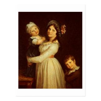 Retrato de la familia de la señora Anthony y sus n Tarjetas Postales